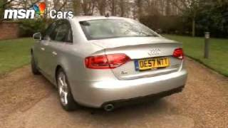 New Audi A4 2008 Model MSN Cars Test Drive