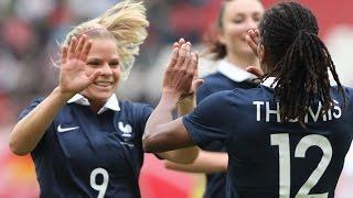 Video Equipe de France Féminine : coulisses de la 1ère victoire en Allemagne MP3, 3GP, MP4, WEBM, AVI, FLV Juni 2017