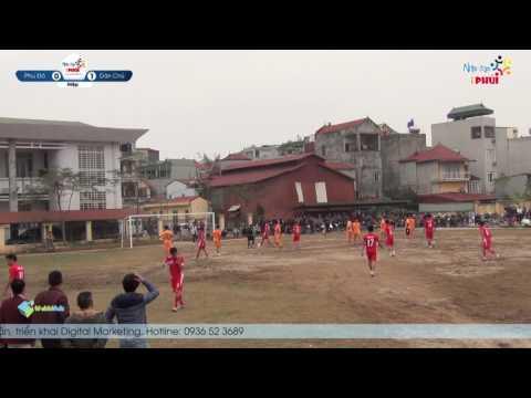 [Highlight]  Fc Phú Đô vs Fc Dân Chủ | Giải bóng đá đá làng Hòe Thị 2017  |Nhịp đâp iPhủi