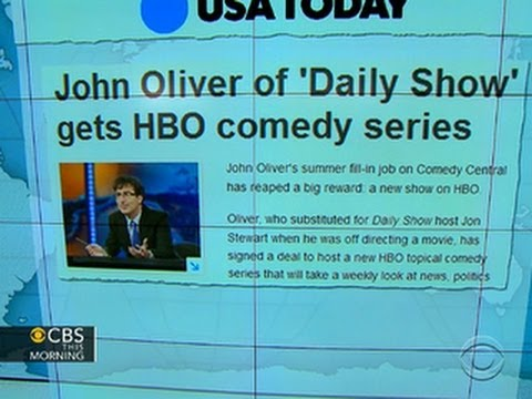 Headlines at 8:30: John Oliver of
