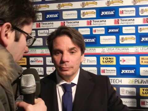 Pisa-Arezzo 2-0, intervista a Capuano