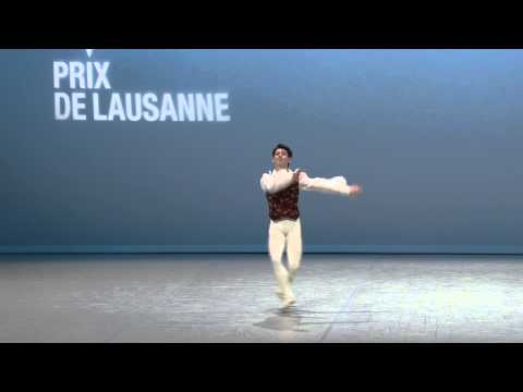 Bret Coppa - 2015 Prix de Lausanne Finalist - Classical variation