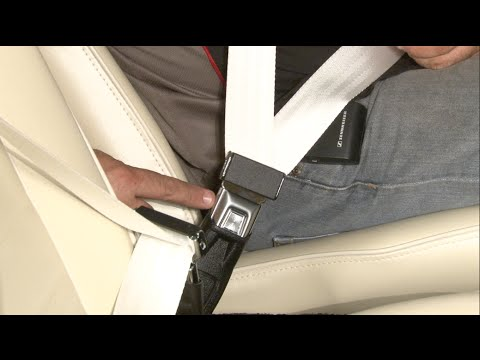 Mustang Retractable 3-Point Seat Belt Install 1965-1973
