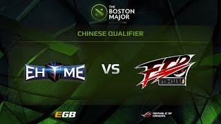 EHOME.X vs FTD-Club A, Boston Major CN Qualifiers
