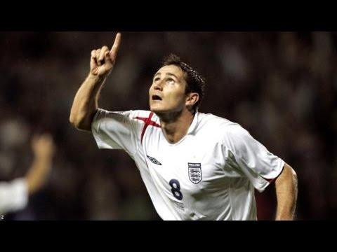 Frank Lampard all England Goals