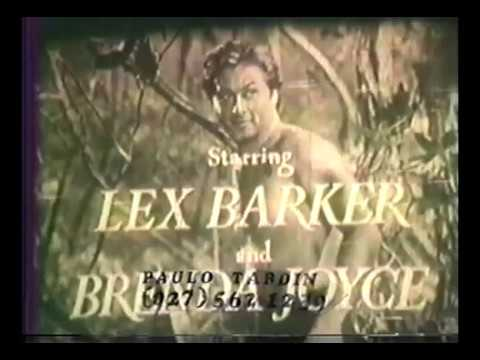 Tarzan e a Montanha Secreta ou A Fonte Mágica 1949 Lex Barker Dublagem Clássica Cinecastro