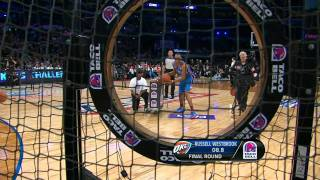 Stephen Curry Wins the Skills Challenge