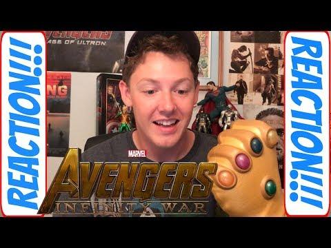 Avengers Infinity War Comic Con Trailer Reaction SDCC 2017!!! | Webhead