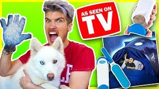 Video TESTING WEIRD AS SEEN ON TV PRODUCTS! | Do They Really Work?! MP3, 3GP, MP4, WEBM, AVI, FLV April 2018