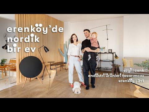 Daire Turu: Ezgi ve Cenk'in Erenköy'deki 3+1 Evi