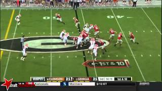 Vic Beasley vs Georgia (2014)