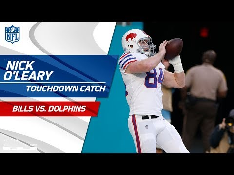 Video: Tyrod Taylor's TD Drive Ends w/ Big Pass to Nick O'Leary! | Bills vs. Dolphins | NFL Wk 17