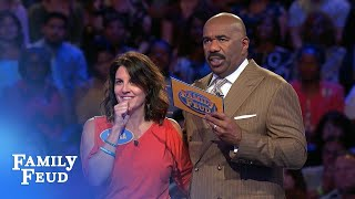 Video ALL THE #1s! Karla CRUSHES Fast Money! | Family Feud MP3, 3GP, MP4, WEBM, AVI, FLV Agustus 2018