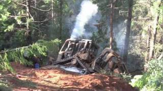 Video D 4 High Track Dozer Rollover and Recovery MP3, 3GP, MP4, WEBM, AVI, FLV September 2019