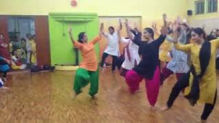 Video Bhangra on Dhol by Megha Kalia (NYC Bhangra)- Bengaluru MP3, 3GP, MP4, WEBM, AVI, FLV April 2018