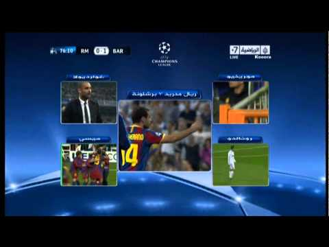 Mourinho & Ronaldo reaction to Messi 1st vs Real Madrid (видео)