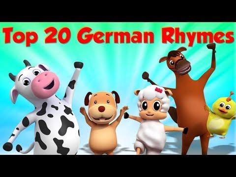 Top 20 Kinderlieder   top deutsche kinderreime   Top 20 Nursery Rhymes   Kids Song   Baby Rhymes