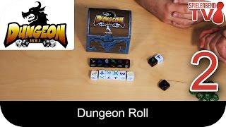SpieleabendTV stellt euch Dungeon Roll vor. Verlag: Pegasus Spiele Gäste: Andreas Hertl Adrian Fuchs ► Amazon: http://goo.gl/VfPfMq Facebook: www.facebook.co...