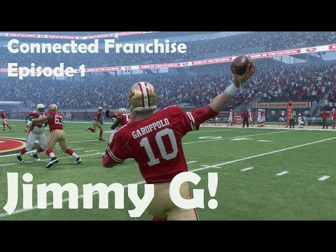 Jimmy Garoppolo Connected Franchise 49'ers Debut!