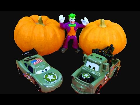 Army - Just4fun290 Disney Pixar Cars Army Lightning McQueen & Mater have their first Costume Party Joker! The town of Radiator Springs is having its first costume party and Lightning and Mater have...