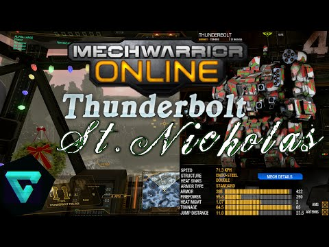 MechWarrior Online - Christmas dubstep King crab slaughter - Countdown to Resistance
