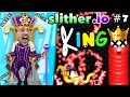 Slither Io 7: I Am King Royal Death Kill The King Score