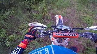 7. 2012 KTM 150XC trail ride