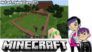 Minecraft Monday EP41 - Mutant Animal Farm PT3 - Creative with Mod