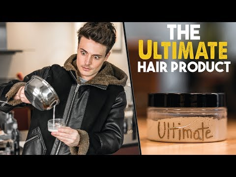 Hairstyles for short hair - Creating & Testing The Ultimate Hair Product  Men's Hair 2018  BluMaan