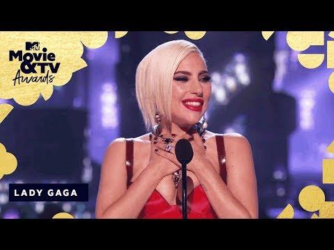 Lady Gaga Accepts The Award for Best Music Documentary | 2018 MTV Movie & TV Awards (видео)