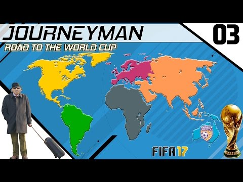 Fifa 17 - Journeyman - Road to the World Cup - #3 (Perth Glory) (видео)