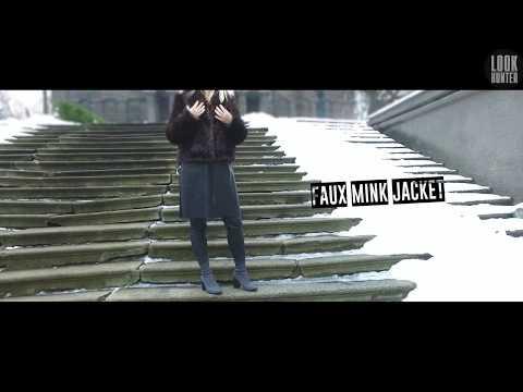 Faux Mink Jacket