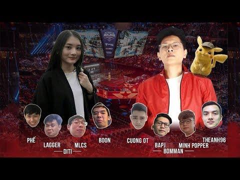 [Showmatch CSGO] Trận Đấu Cực Căng Giữa Team Bomman vs Team DiTi Map Inferno
