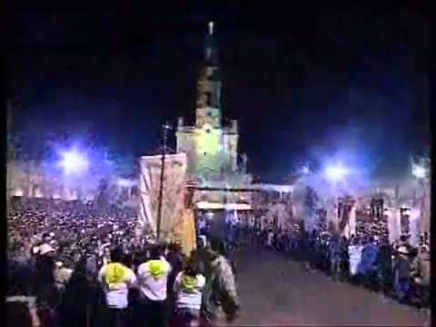 la madonna di fatima - processione in notturna.