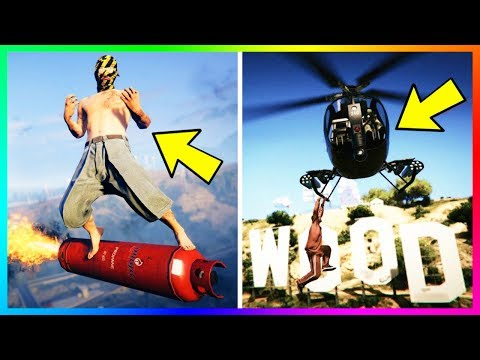 183 Things To Do When You're Bored In GTA Online!