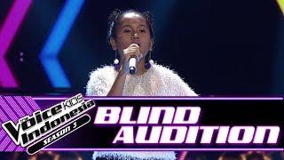 Maria - Bird Set Free | Blind Auditions | The Voice Kids Indonesia Season 3 GTV 2018