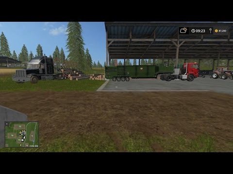 FLIEGL Timberkipper Wood Trailer v1.4