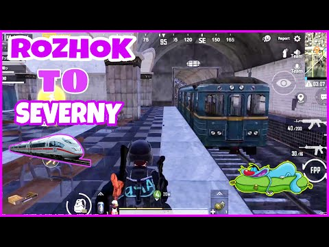 Travel Rozhok To Severny With Train In Erangal !! Pubg Funny Gameplay With Oggy And Jack !! Oggy Or