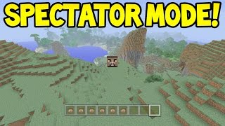 Minecraft (Xbox360/PS3) - SPECTATOR MODE?