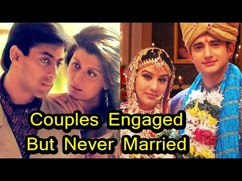 10 Indian Celebrity Couples Who Got Engaged But Never Got Married видео