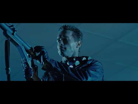 Terminator 2: Judgment Day (1991) - Minigun Scene