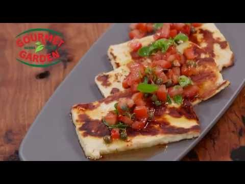 Grilled Haloumi with Chilli Vinaigrette – Gourmet Garden Fast Fact | Everyday Gourmet S6 E80
