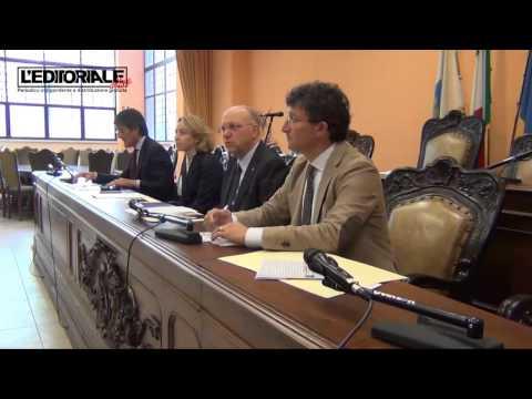 Conferenza stampa di fine mandato di Antonio Del Corvo