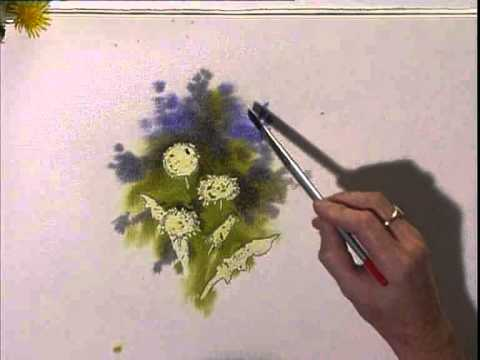 flower painting - Keep your garden growing and your paints flowing with Jeremy's helpful instruction on painting flowers. In this video workshop, playing now on http://www.Art...