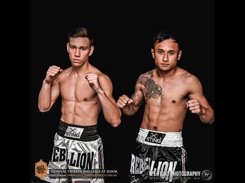 Rebellion Muaythai 10: Quan Trinh vs Elliott Glenister - FULL FIGHT (видео)