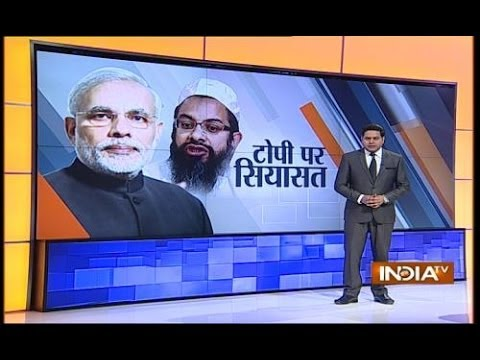 Maulana Madani defends Modi for not wearing skull cap 21 April 2014 04 PM