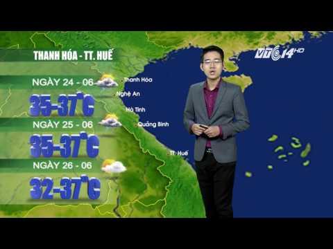 (VTC14)_ Thời tiết 12h ngày 23/06/2017