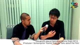 Giovanni S Island Debuts At Anime Expo 2014  Yoshiki Sakurai Talks About The Film