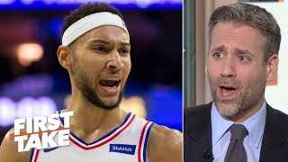 Ben Simmons is not being an effective playmaker vs. the Raptors – Max Kellerman | First Take