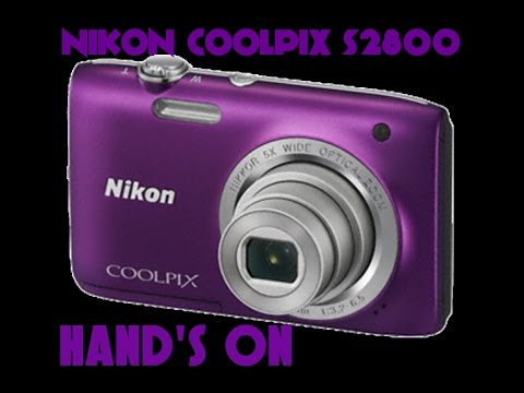 Nikon Coolpix S2800 Hand's on